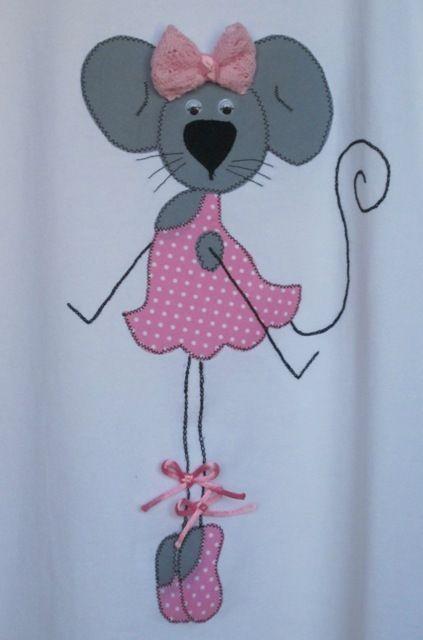 Camiseta RATONCITA BALLET, Ropa, Camisetas