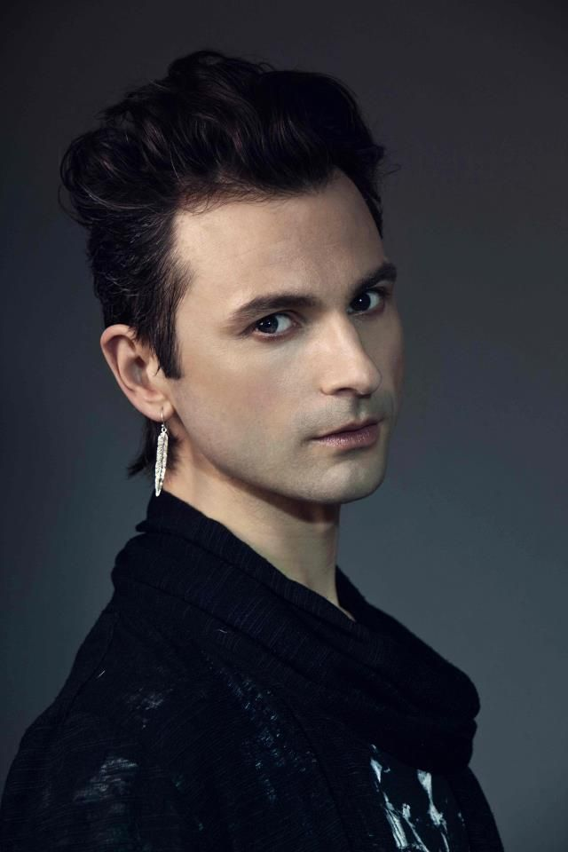 Hot man... Ola Salo... Swedish singer... The Ark... Rockin it like a typical swede..