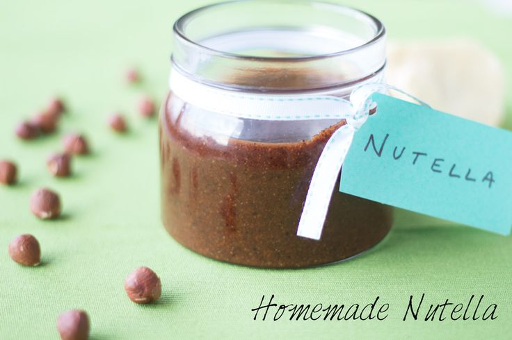 world vegan Homemade Nutella recipe! Completely refined sugar free ...
