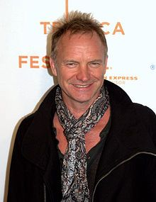 Gordon Matthew Thomas Sumner[1] CBE (born 2 October 1951), known by his stage name Sting, is an English musician, singer-songwriter, multi-instrumentalist, activist, actor and philanthropist. He is best known as the principal songwriter, lead singer and bassist for the rock band The Police before launching a solo career. Sting has varied his musical style, incorporating distinct elements of jazz, reggae, classical, New Age, and worldbeat into his music.