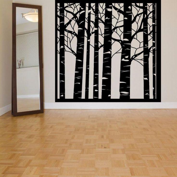 17 Best Ideas About Birch Tree Mural On Pinterest Babies Nursery Baby Bedroom And Tree Murals