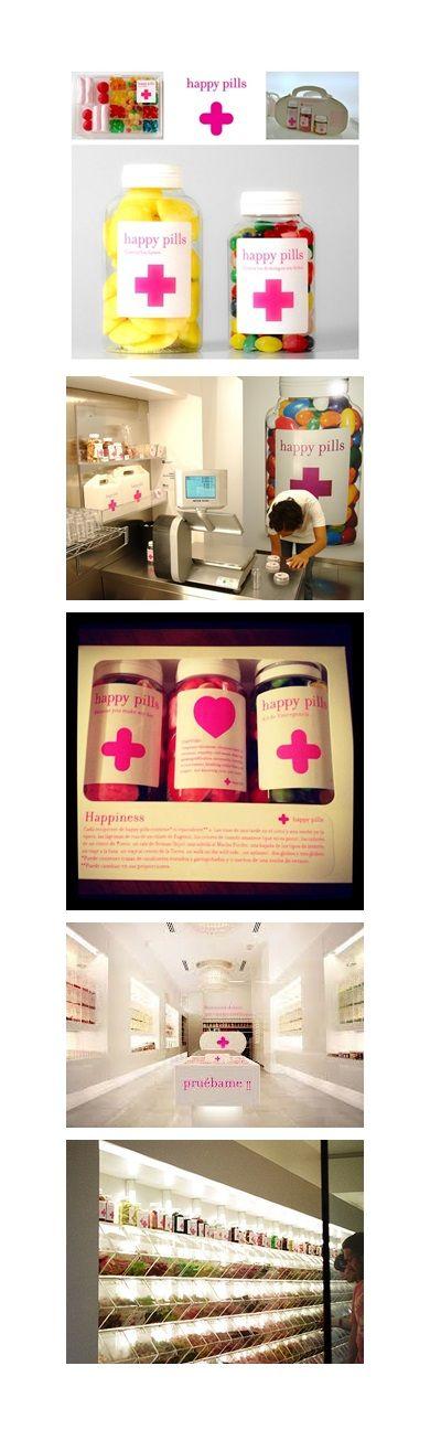 Happy Pills: Golosinas de emergencia Diseño Interior: Estudio M