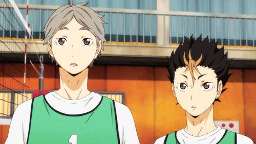 DWAA Suga and Nishinoya