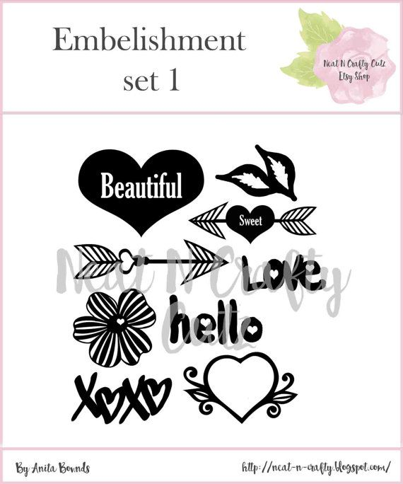 You are purchasing a downloadable digital cut file. No physical items will be mailed to you. The cut files come in PNG /JPEG format and silhouette studio file and can be opened in your Silhouette software You can create fun background for your scrapbook layouts and paper crafting projects Ps I would love to see what you have created .. https://www.facebook.com/AnitaBowndsNeatNCrafty/