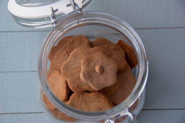 Knapperige kaneel koekjes van bakbananenmeel - Femke's Foodies | glutenvrij, lactosevrij, paleo, low-fodmap, kaneel, plantainflour, cinnamon biscuits