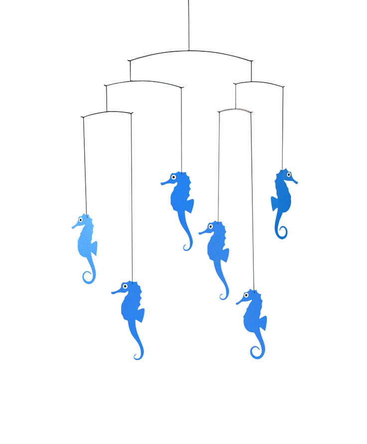 Sea Horse (blue) by Flensted Mobiles