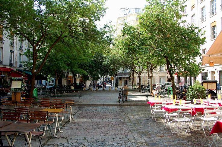 Place du Marché Sainte-Catherine (Pariszigzag, Paris secret, les places les plus tranquilles)