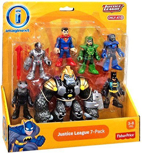 Best Justice League Toys And Action Figures For Kids : Imaginext justice league pack action figure set with