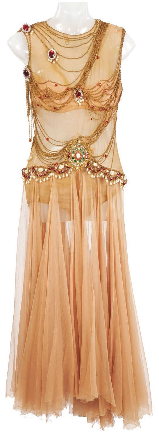 Rita Hayworth's costume from Salome | dance of the seven veils.