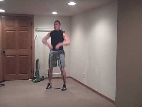 Spartacus Resistance Band Workout Part 1