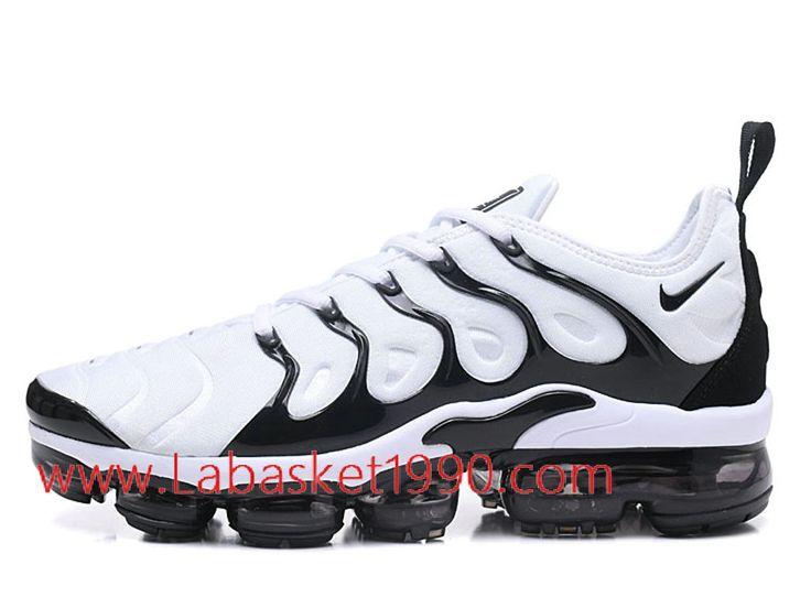 Nike Air VaporMax Plus AO4550-ID1 Chaussures Nike 2018 Pas Cher pour homme  Noir Blanc-Achetez en ligne les articles signés Nike.