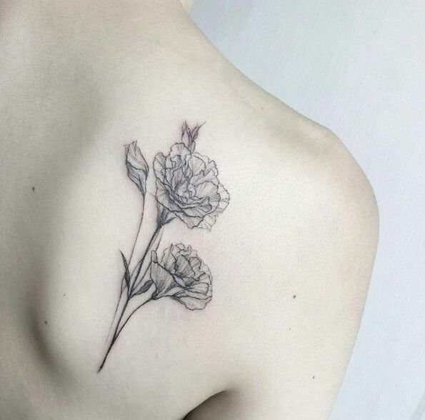 Carnations tattoo                                                                                                                                                                                 Más