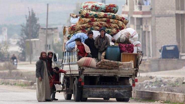 Syrien: Großoffensive von Putin und Assad - Zehntausende auf der Flucht - Politik Ausland - Bild.de