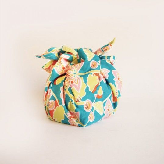 Eco Friendly Gift Wrapping: Organic Cotton Knot-Wrap $2.90AU  Easily transform your order into a gorgeous bath and beauty gift pack by adding a funky organic knot-wrap. It's a charming and unique way to dress up gifts, it can be reused afterwards and is made of 100% organic cotton. The design is randomly picked from an assortment of delightful and bright-ful patterns. Knot-Wraps can be reused as handkerchiefs, scarfs, bandanas, sewing projects, quilting projects, etc.