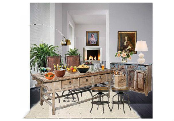 un grande tavolo by mirellaparer | Olioboard