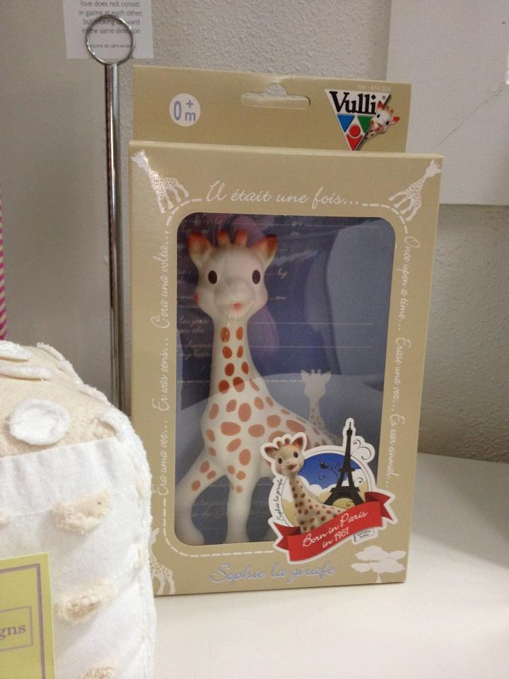 Don't. Forget we always have Sophie the Giraffe as  that special gift.  Kelly x  $34
