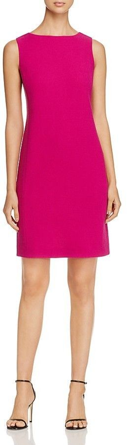 Armani Collezioni Side-Seamed Sheath Dress
