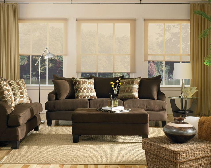20 Living Room Ideas Brown Sofa