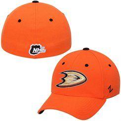 Zephyr Anaheim Ducks Orange Breakaway Flex Hat.
