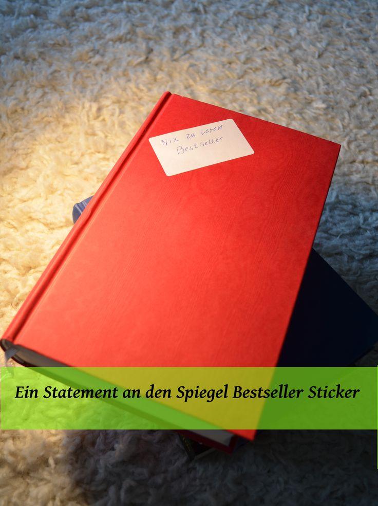 """Das Ziel unseres Blogs sind ehrliche Rezensionen. In der Vergangenheit waren aktuelle Bücher, insbesondere die mit dem """"Spiegel Bestseller Sticker"""" oft eine Enttäuschung. Diskutiert mit uns bei www.nixzulesen.de"""