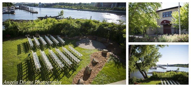 Minnesota Boat Club on Raspberry Island | St Paul Wedding
