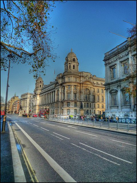 Whitehall, London, England