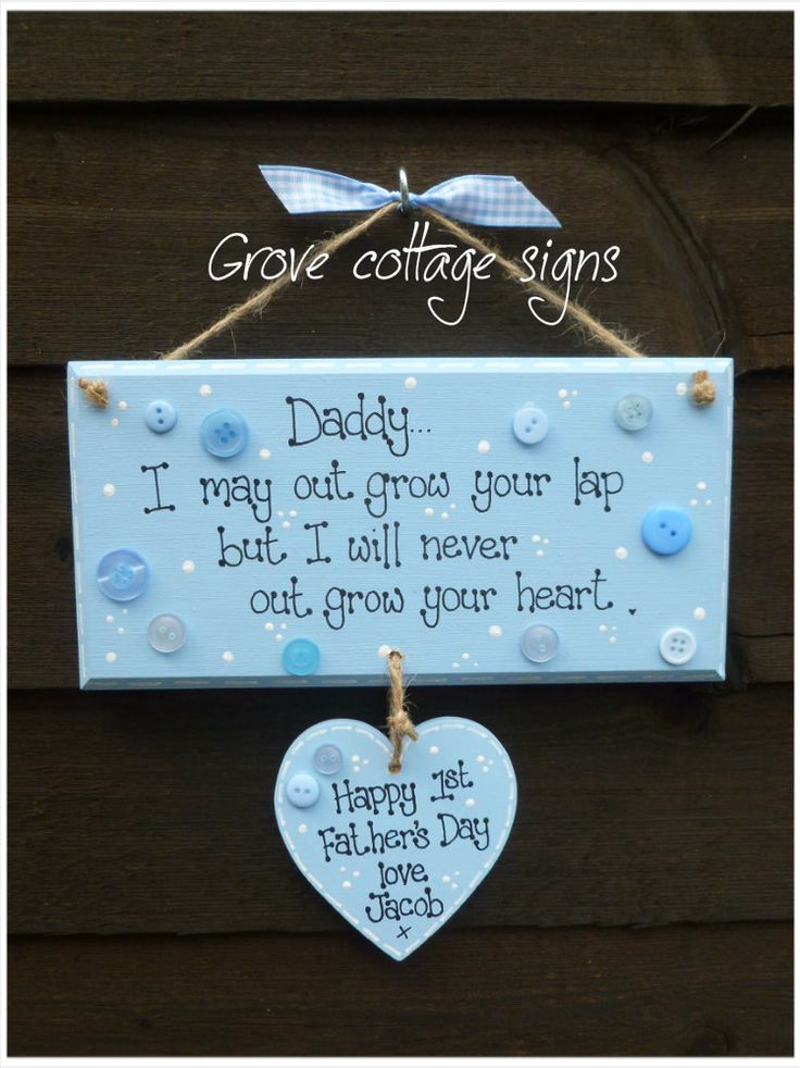 Completed order #handmade #grovecottage #fathersday #dad #daddy #personalised #hernebay