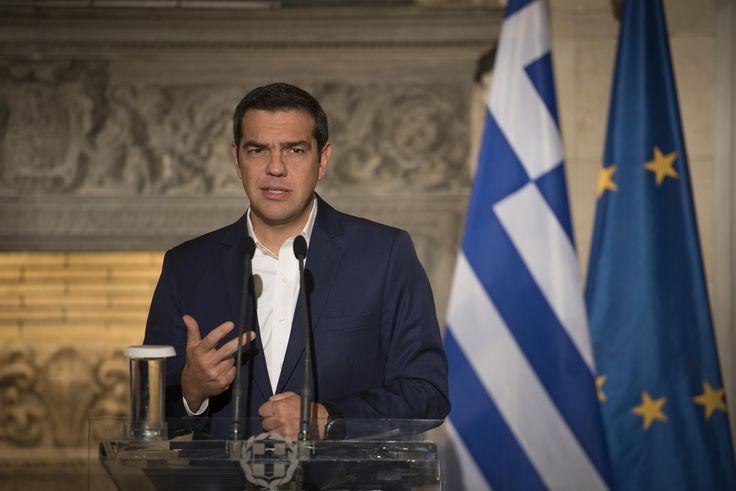 Δημιουργία - Επικοινωνία: Εθνικό Πένθος κύρηξε ο πρωθυπουργός Αλέξης Τσίπρας...