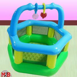 Parc gonflable bébé sécurité