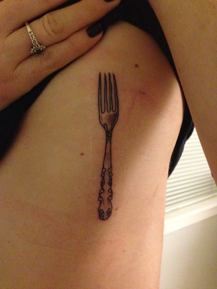 Victorian Fork - My favorite of all Tattoos! Always Hungry - Chef Life