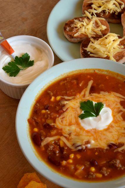 Szefer w kuchni: Meksykańska zupa chili