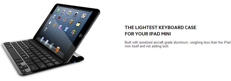 #Belkin présente son étui-clavier sans fil #Bluetooth FastFit pour #iPadmini !