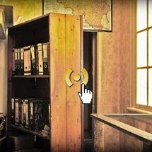 Amazing 3-D-Visualization of Anne Frank's hideaway. Rooms furnished as they might have been during Anne's time.