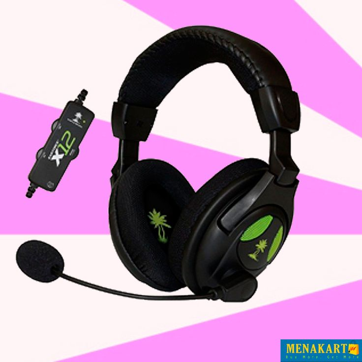 Turtle Beach Ear Force X 12Headset and Amplified Stereo Sound. AED 189.00. #headphonesonline #headsets #earphonse #accessories #online #shopping #menakart