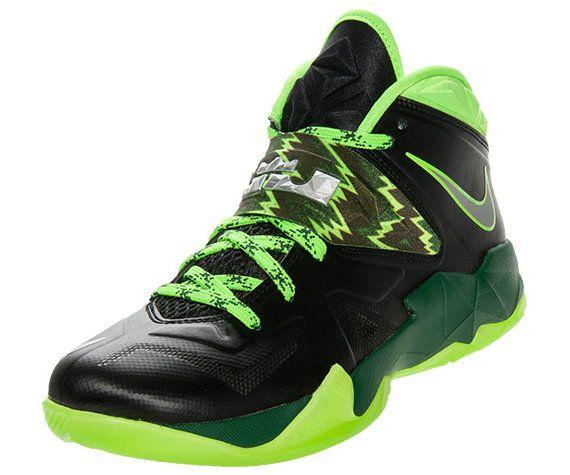 size 40 eb7f6 bef26 Nike Zoom Soldier VII Black Gorge Green Neon 609679 004