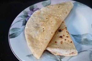 Rotli (Roti) Indian Bread // Pieczywo indyjskie
