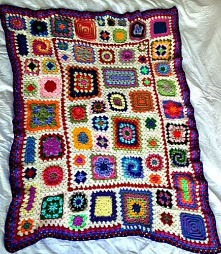 17 Best images about wise craft granny square sampler on ...