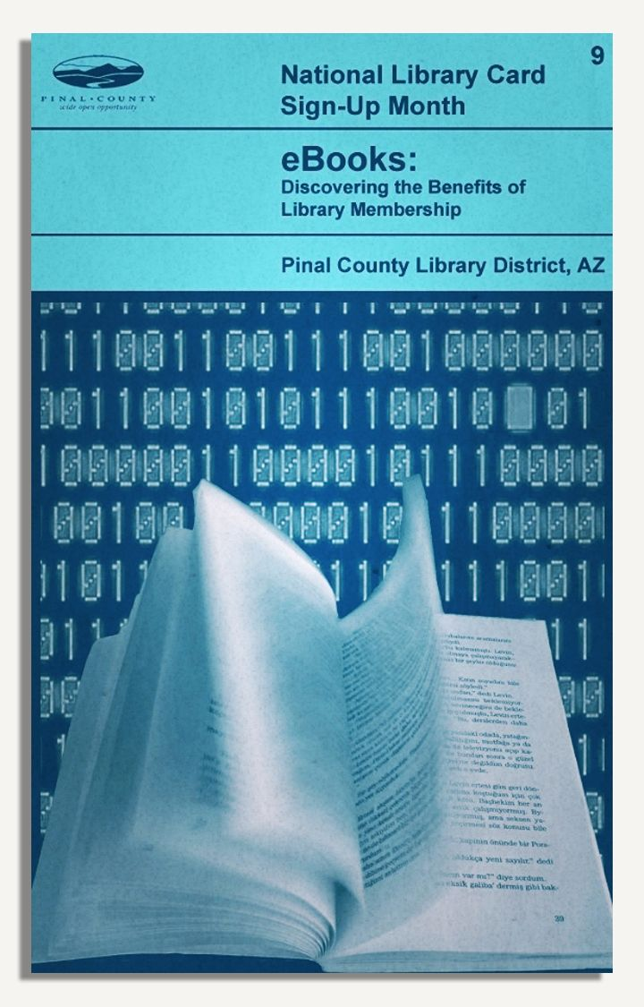 Benefit # 9: Library Ebook Collections Pinal County Library District, Az   Library Card