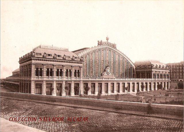 El Madrid de Hauser y Menet. Estación de Atocha. Ferrocarriles de M.Z.A. 1893 | Flickr: Intercambio de fotos