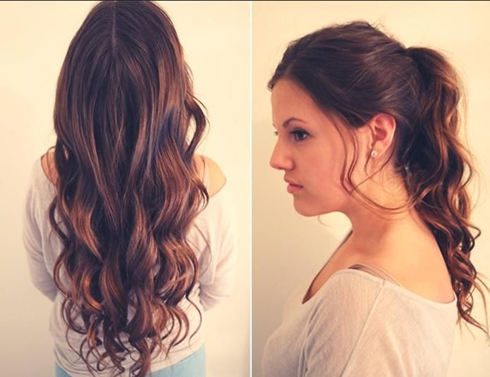 Amazing Different Hair Styles For Long Hair Waterfall Braided Hairstyles For