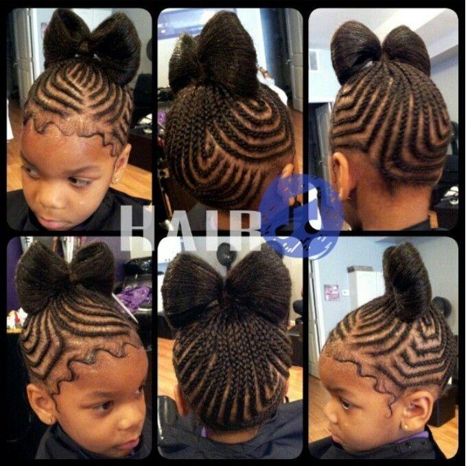 Sensational 1000 Ideias Sobre Cornrow Styles For Kids No Pinterest Moicanos Short Hairstyles Gunalazisus