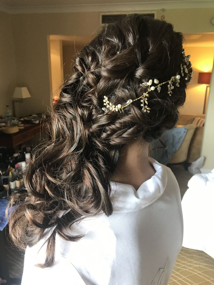 Braided and Weaved Wedding Hair - Extensions