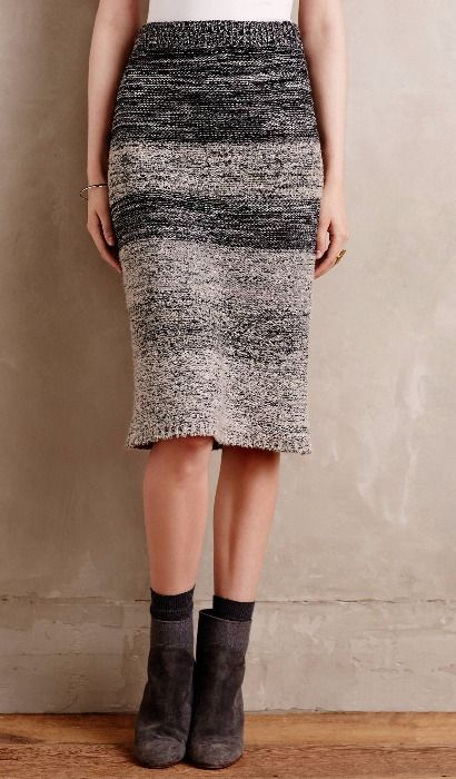 Sweaterknit Pencil Skirt