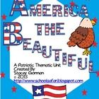 Content:Patriotic Song Lyrics (1st verses) with activities*America (My Country Tis of Thee)*America the Beautiful*God Bless America*Yankee Do...