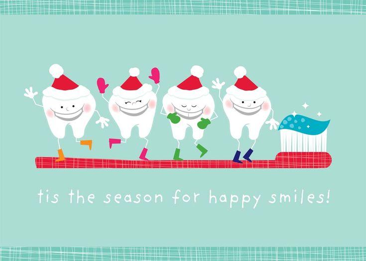 Happy Holidays from #JohnsonStevenEDDS #dental #humor #holidays #santa #reindeer #floss