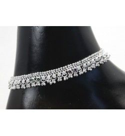 Jhumka silver payal (anklet).  #Anklets #Payal #online #jewellery #Buynow #Bollywood #IndianJewellery