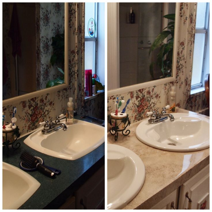 I resurfaced my bathroom counters with parks super glaze after I. 1000  images about Painting Ideas on Pinterest   Parks  Primer and