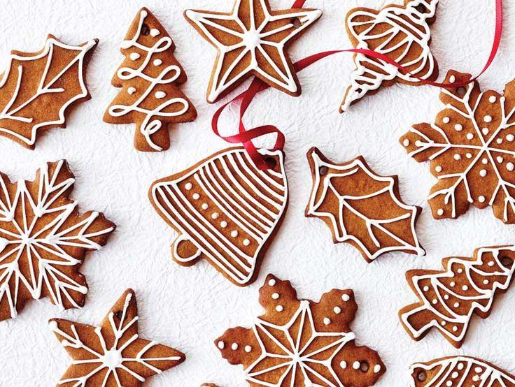 Amusez-vous tout en cuisinant des biscuits de Noël au chocolat, des sablés, des bonshommes en pain d'épice et plus encore!