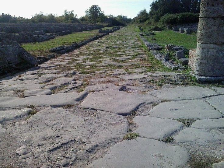 Queste le strade che collegavano Paestum con Velia e Roma.