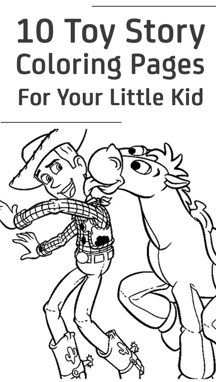 Top 10 Toy Story Coloring Pages For Your Little Kid